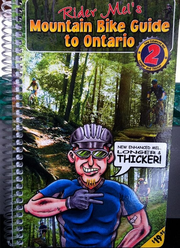 Rider Mel's Mountain Trail Guide Book Ontario 2nd Edition