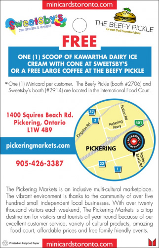 The Pickering Markets
