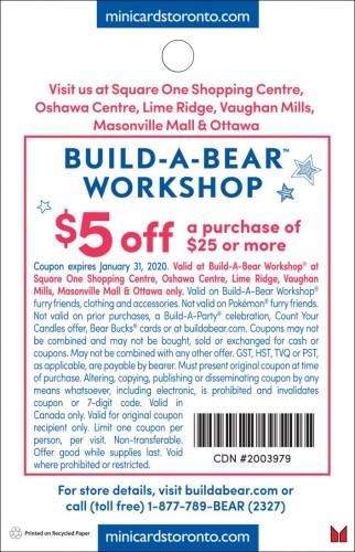 Build -A- Bear Workshop