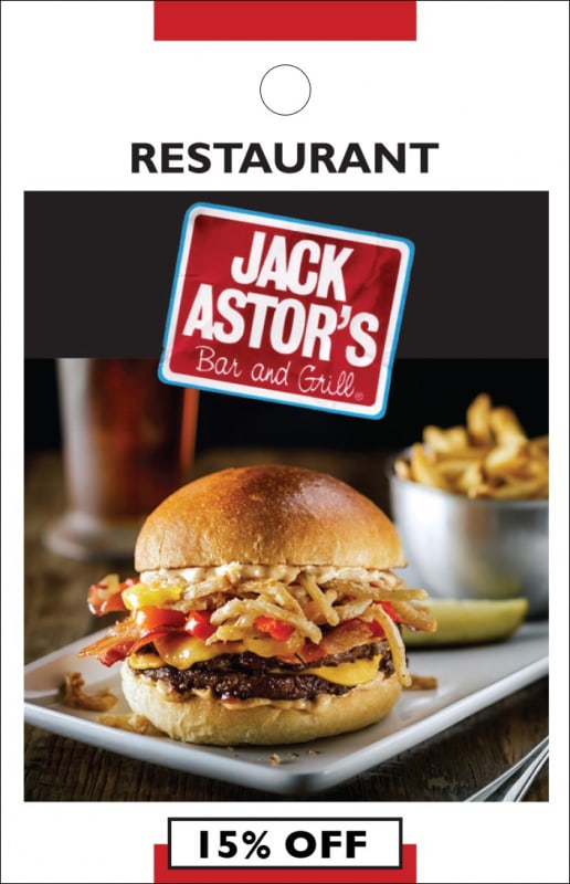 jack astors coupons