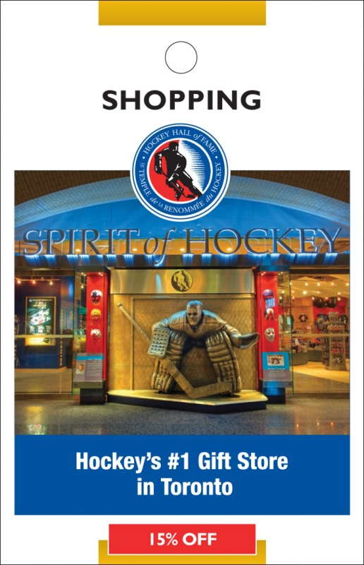 Spirit Of Hockey Gift Shop Shopping Discount Toronto Minicards