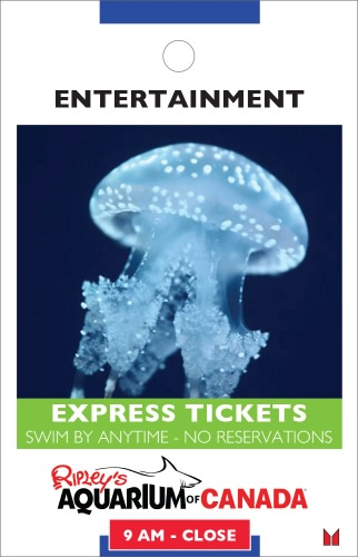 Ripley's Aquarium- Express Tickets