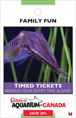 Ripley's Aquarium- Timed Tickets