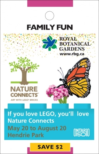 Royal Botanical Gardens- LEGO Exhibit