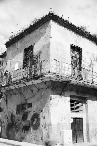 An Old House In Old Havana