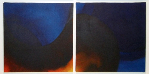 Duet for a Cold Heaven (Diptych)