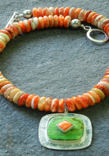 Orange Dreams - Necklace