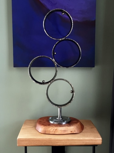 1963 - Salvaged Metal & Wood Sculpture