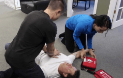 Emergency Response First Aid with CPR & AED